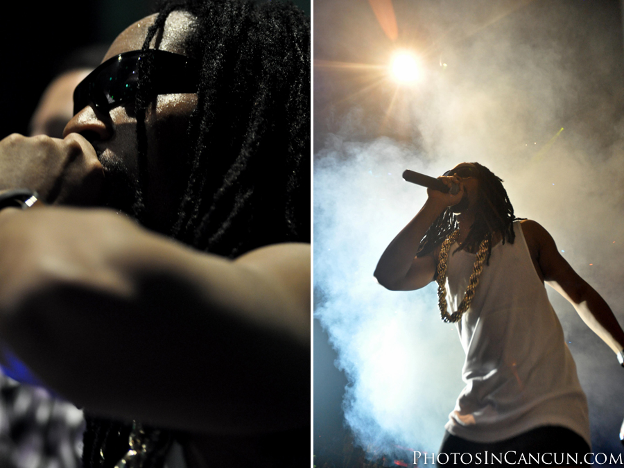 lil jon at the city in cancun mexico